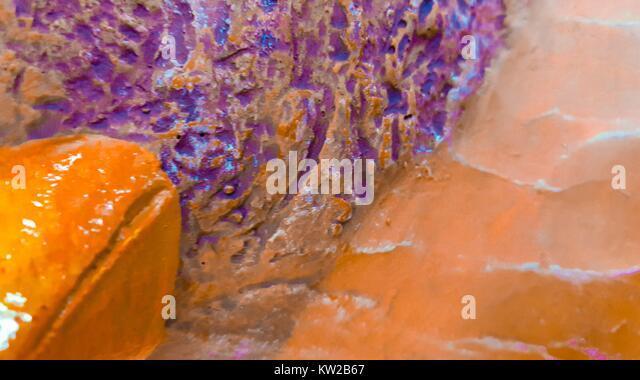 Digital art: digital painting, abstract, creative, textured - Stock Image
