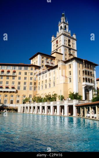 Biltmore hotel Miami - Stock Image