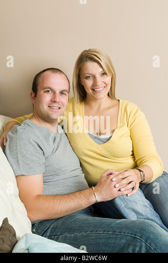 Happy couple - Stock Image