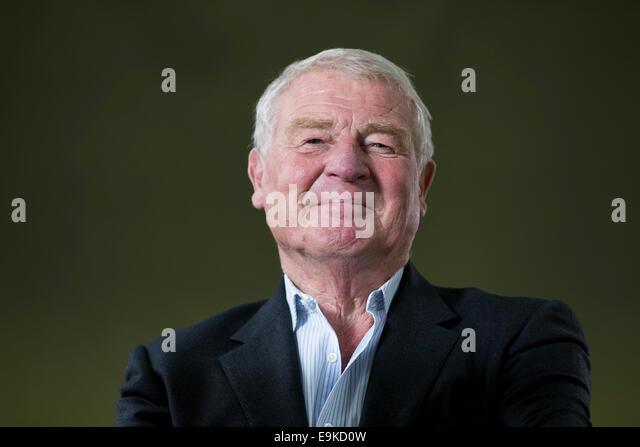 British politician and diplomat Baron Ashdown, usually known as Paddy Ashdown at the Edinburgh Book Festival. - Stock Image