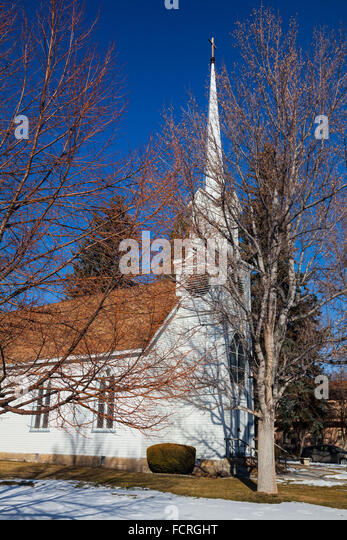 Saint Peter's Episcopal Church in Carson City, Nevada - Stock Image