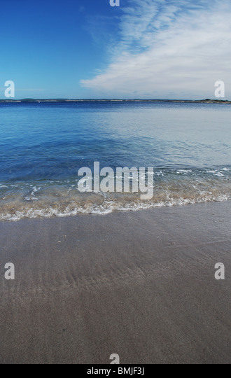Heaven and beach - Stock Image
