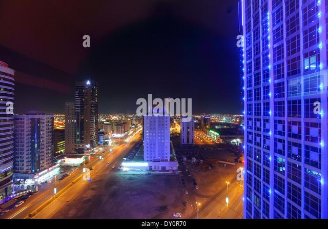 Fujairah, Hamad Bin Abdullah St, Al Fujairah, United Arab Emirates - Stock Image