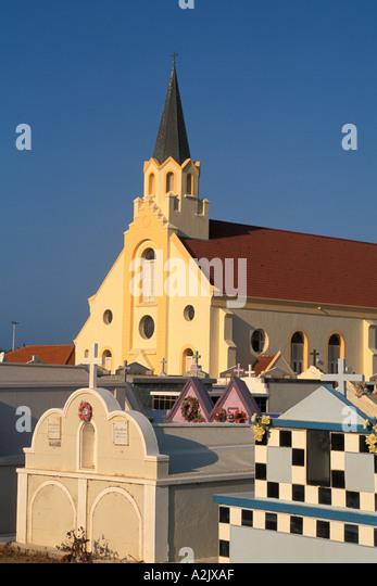 Aruba Noord St Ann s Catholic Church - Stock Image