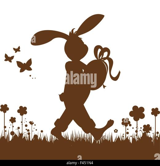 Easter background - Stock Image