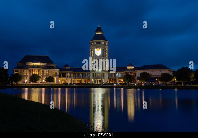 World Golf Hall of Fame at Twilight, St. Augustine, Florida (HDR) - Stock Image