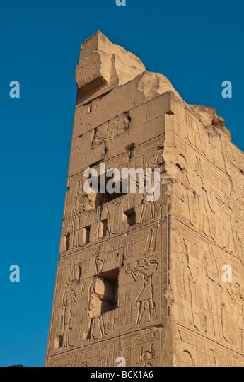 Egypt Kom Ombo - Stock Image