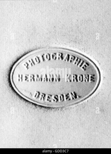 Hermann Krone, 20th century - Stock Image