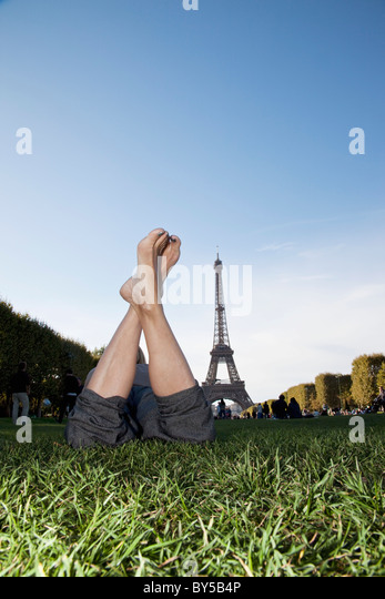 Legs Crossed At Ankle Stock Photos Amp Legs Crossed At Ankle