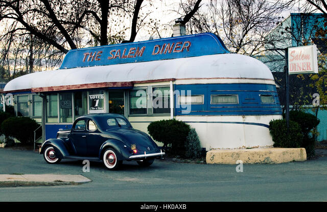 American Diner 1950s Stock Photos Amp American Diner 1950s