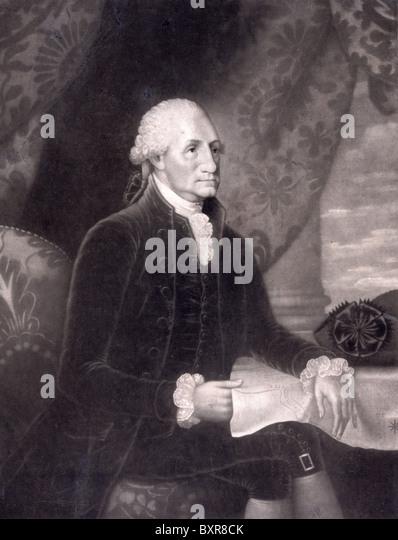 George Washington, President George Washington - Stock Image