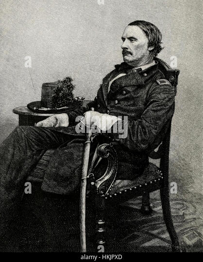 Major General Israel Richardson, Union Army, USA Civil War - Stock Image