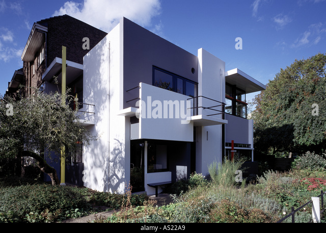 rietveld house utrecht stock photos rietveld house utrecht stock images alamy. Black Bedroom Furniture Sets. Home Design Ideas