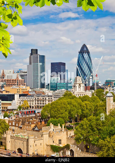 London City - Stock Image