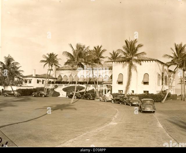 Gulf Stream Golf Club, Palm Beach, ca 1946 - Stock Image