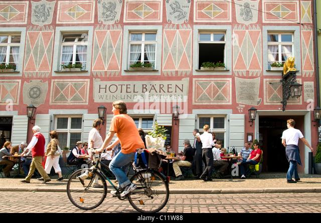 Germany's oldest inn, Freiburg, Baden-Wuerttemberg, Germany, Europe - Stock-Bilder