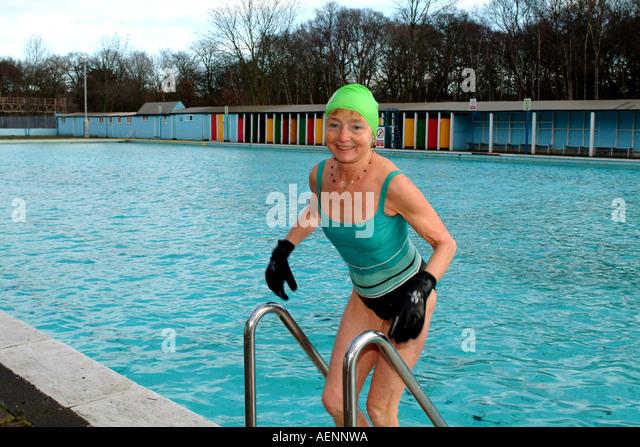 Tooting Bec Lido Stock Photos Tooting Bec Lido Stock Images Alamy