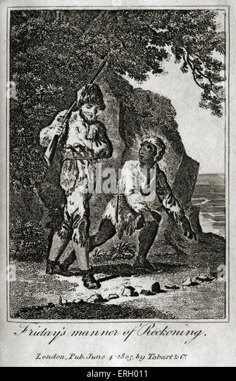 daniel defoe the life and adventures The life and adventures of robinson crusoe by daniel defoe after surviving a terrible shipwreck, robinson crusoe discovers he is the only human on an island far from any shipping routes or rescue.