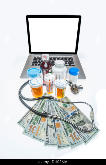 cost of health care - Stock Image