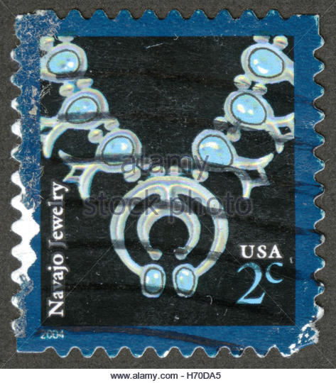 Navajo jewelry stock photos navajo jewelry stock images for Thunderbird jewelry albuquerque new mexico