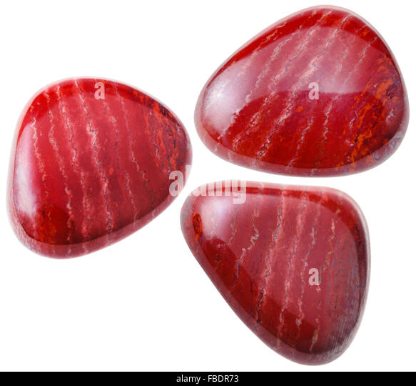 Red Natural Stones : Red jasper rock stock photos