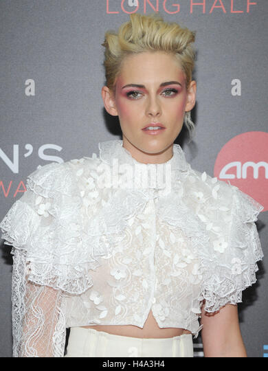 New York, NY, USA. 14th Oct, 2016. Actress Kristen Stewart attends the 54th New York Film Festival 'Billy Lynn's - Stock Image