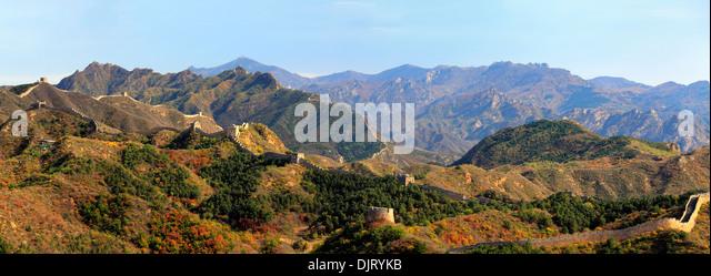 Great Wall of China, Gubeikou, Miyun, China - Stock Image