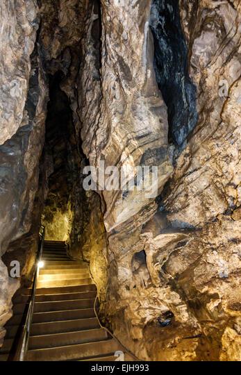Johannesburg South Africa African Muldersdrift Sterkfontein Caves hominin site human ancestor Cradle of Humankind - Stock Image