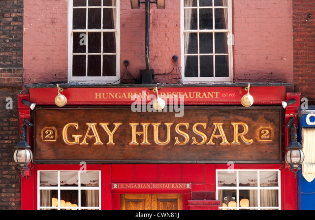 from Canaan gay hussar restaurant london