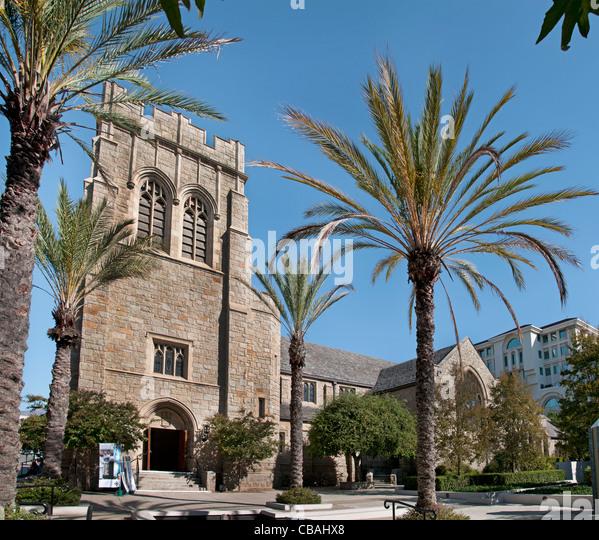 All Saints Church Pasadena California United States of America American USA Town City Los Angeles - Stock Image