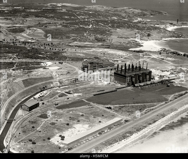 Bunnerong Power Station Matraville - 12th Dec 1936 - Stock Image