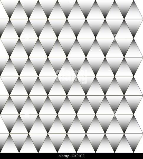 Black and white triangle pattern, background - Stock-Bilder