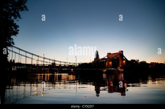 Photo of the bridge - Stock Image