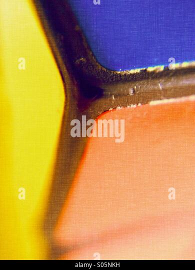 Close up of a Rubik's cube - Stock Image