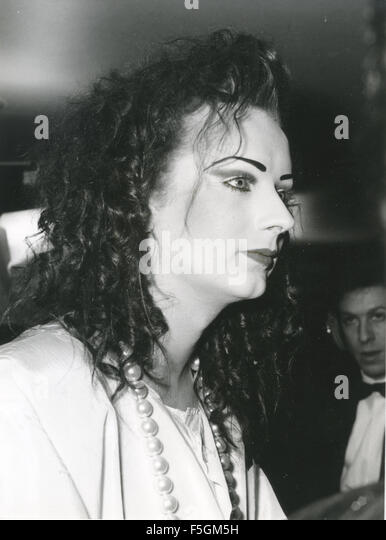 BOY GEORGE (George O'Dowd) English pop musician about 1982 - Stock Image