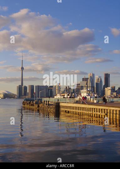 City skyline, Toronto, Ontario, Canada - Stock Image