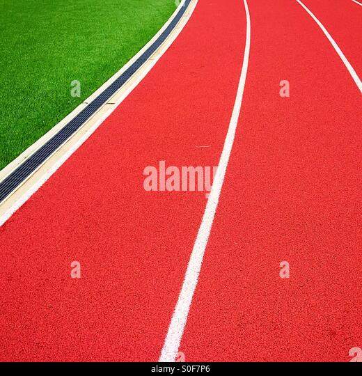 Graphic Track Field - Stock-Bilder