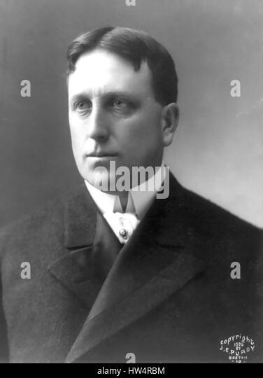 WILLIAM RANDOLPH HEARST (1863-1951) American newspaper publisher in 1906 - Stock-Bilder