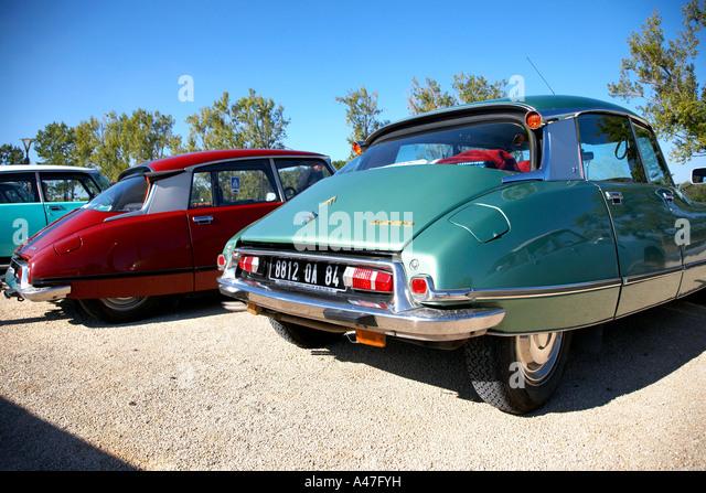 The famous car, Citroen DS, France. - Stock Image