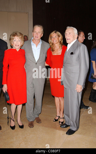 Kirk Douglas And Anne BuydensStock Photos and Images