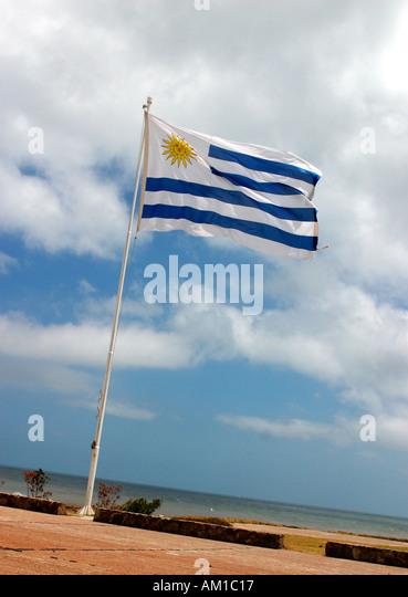 Flag of Uruguay - Stock Image