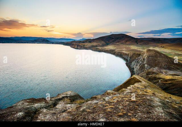 Black Sea coast - Stock Image