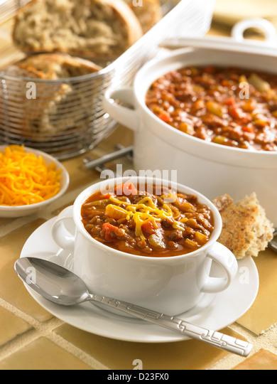 Lentil Stew - Stock Image