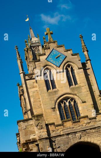 Eastgate, Warwick, Warwickshire, UK. - Stock Image
