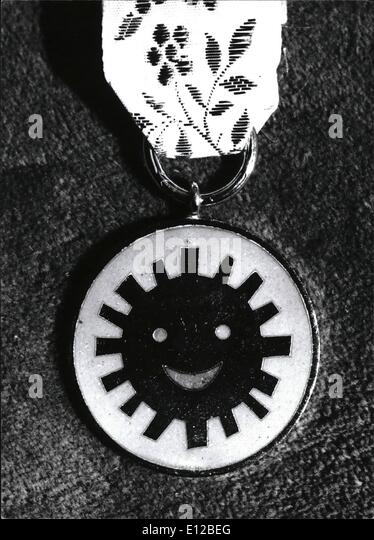 Dec. 09, 2011 - The history of the medal begin in 1968. polish medal of smile is the only one the world over proposal - Stock Image