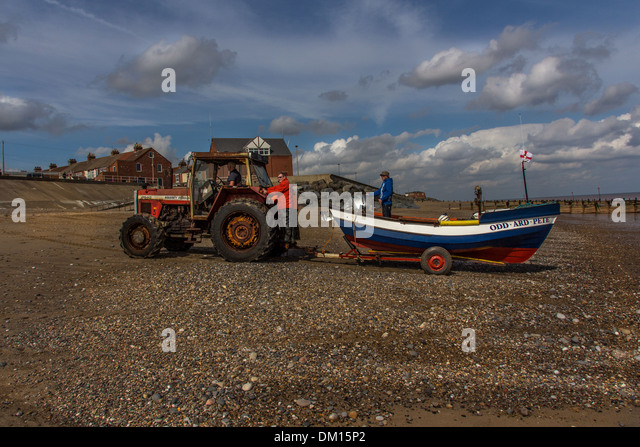 Tractor Pull Boats : Old tractor boat stock photos
