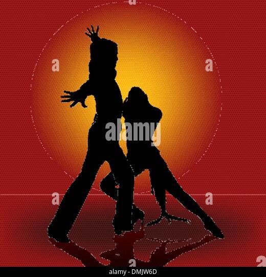 Passionate Dance - Stock Image