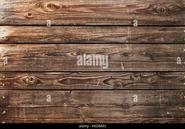 weathered cedar gate panel - Stock Image