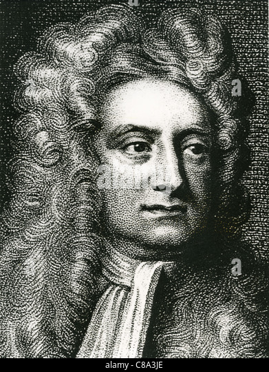 ISAAC NEWTON (1642-1727) English physicist, mathematician and astronomer - Stock Image