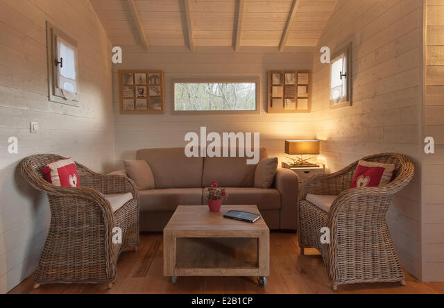 treehouse interior stock photos treehouse interior stock images alamy. Black Bedroom Furniture Sets. Home Design Ideas